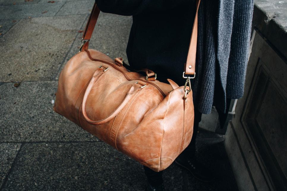 Leder Reisetasche Herren