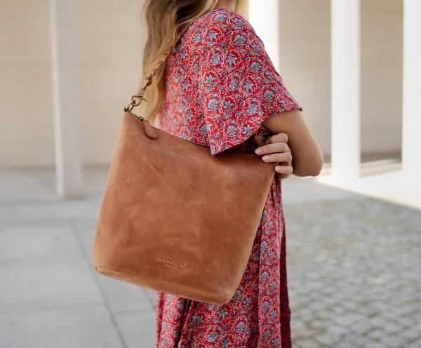 Damen Shopper Leder