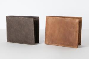 Holzrichter Herren Portemonnaie aus Leder