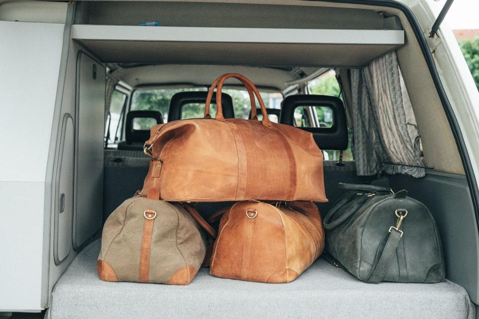 Damen Reisetasche aus Leder