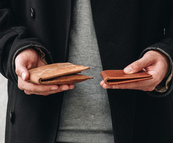 Slim Wallet Herren