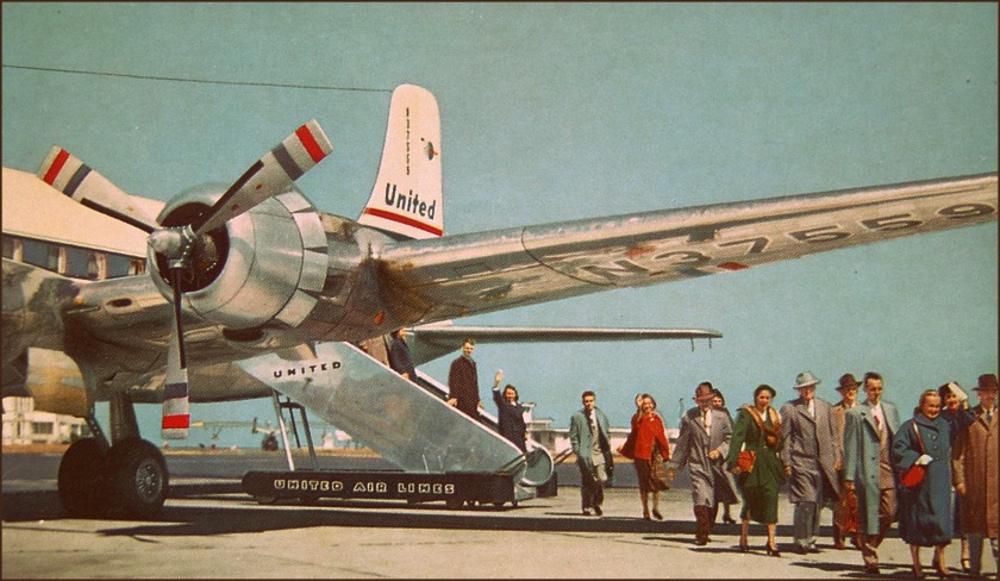 Retro Jet Age Reisen Foto