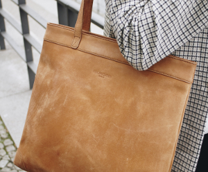 Damen Shopper Tasche aus Leder
