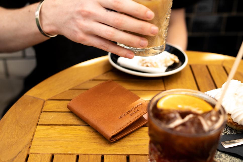 Slim Wallets aus Leder