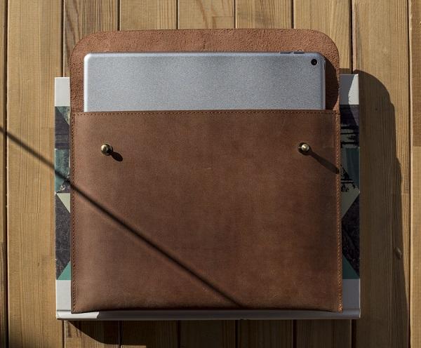 13 Zoll Laptoptasche aus Leder