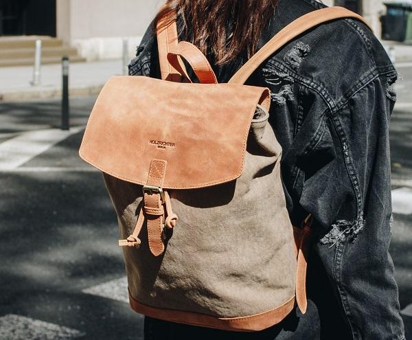 Leder Rucksack für Damen
