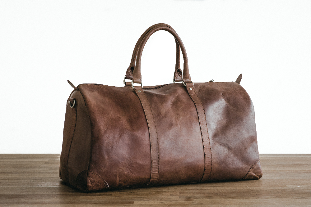 HOLZRICHTER weekend bag No 8 leather
