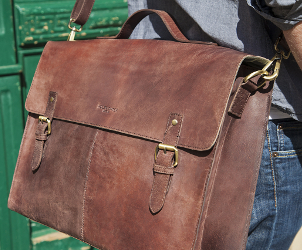 Leather Satchel for men and women