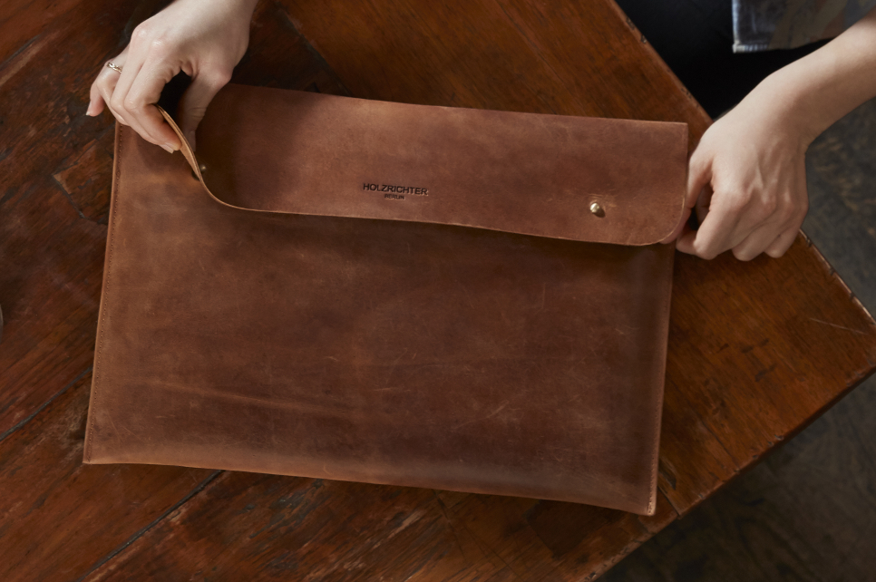 Macbook Leather Bag