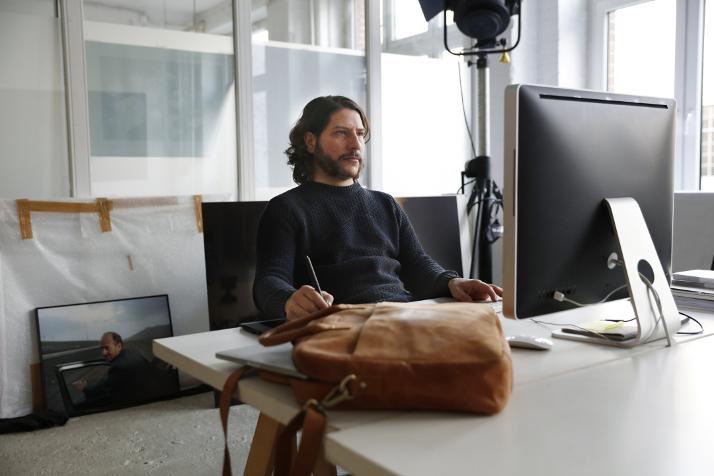 Max Schroeder Arbeitsplatz