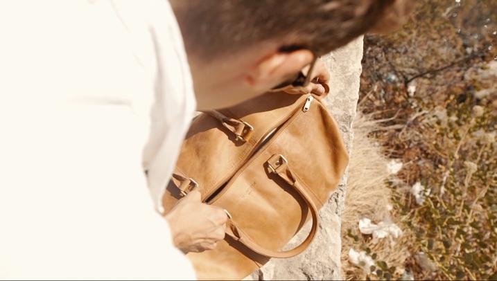 Reisetasche Leder für Italien Urlaub