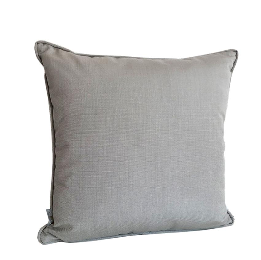 Outdoor Kissen Premium mit Keder in der Farbe Grau