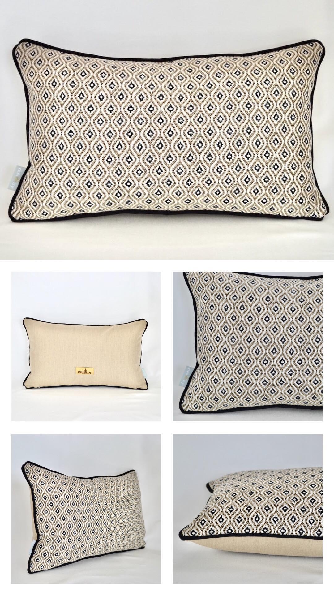 Neue Kissen Kollektionen KOMO RAFFIA von chillisy aus Sunbrella Textil