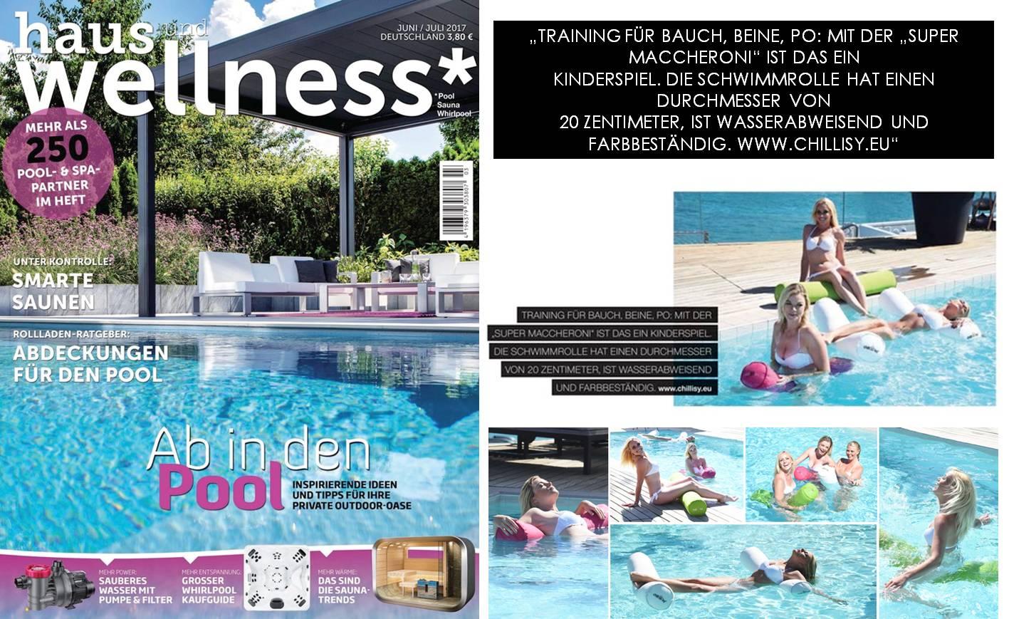 Poolnudel Super Maccheroni von chillisy im Magazin Haus und Wellness
