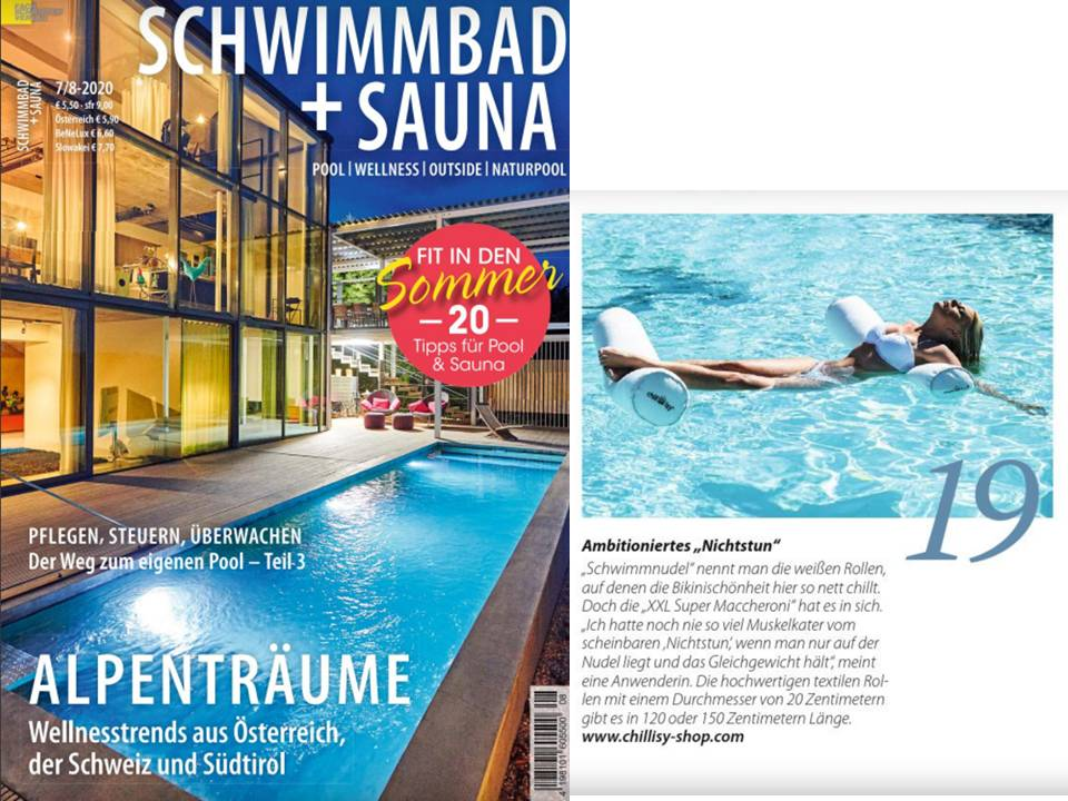 "Poolnudel ""XXL Super Maccheroni"" im Magazin Schwimmbad + Sauna"