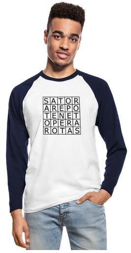Sator-Quarat als Shirt für Herren