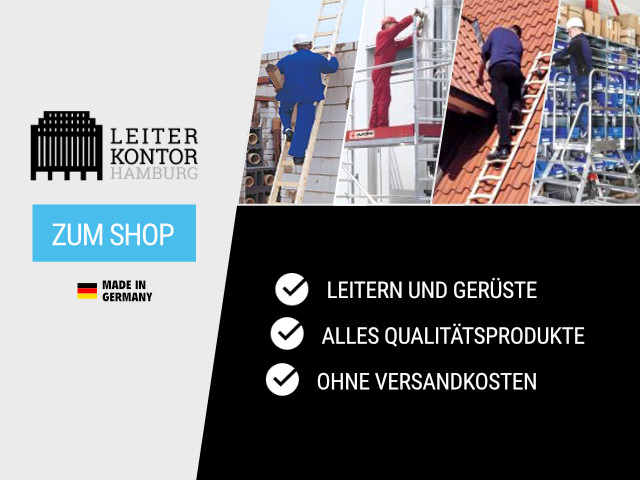 Leiterkontor.de - Profi Leitern und Gerüste - versandkostenfrei kaufen