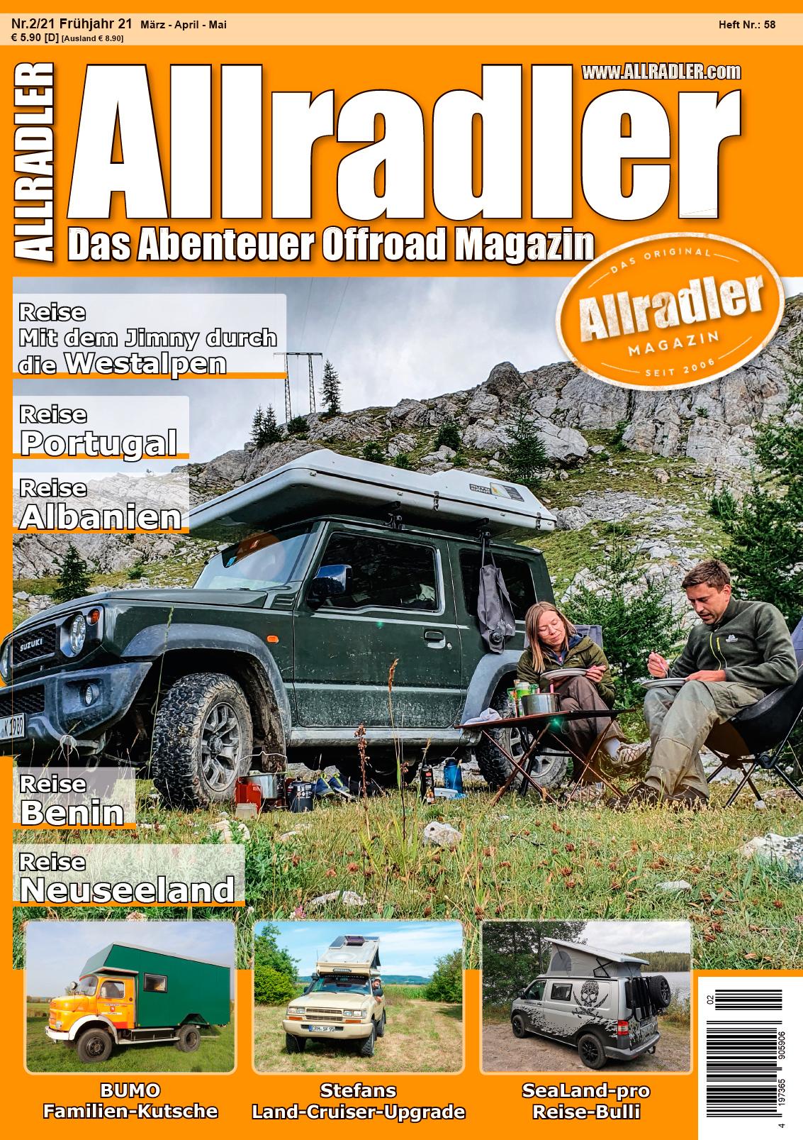SeaLand-pro Allradler dasAbenteuer Offroad Magazin