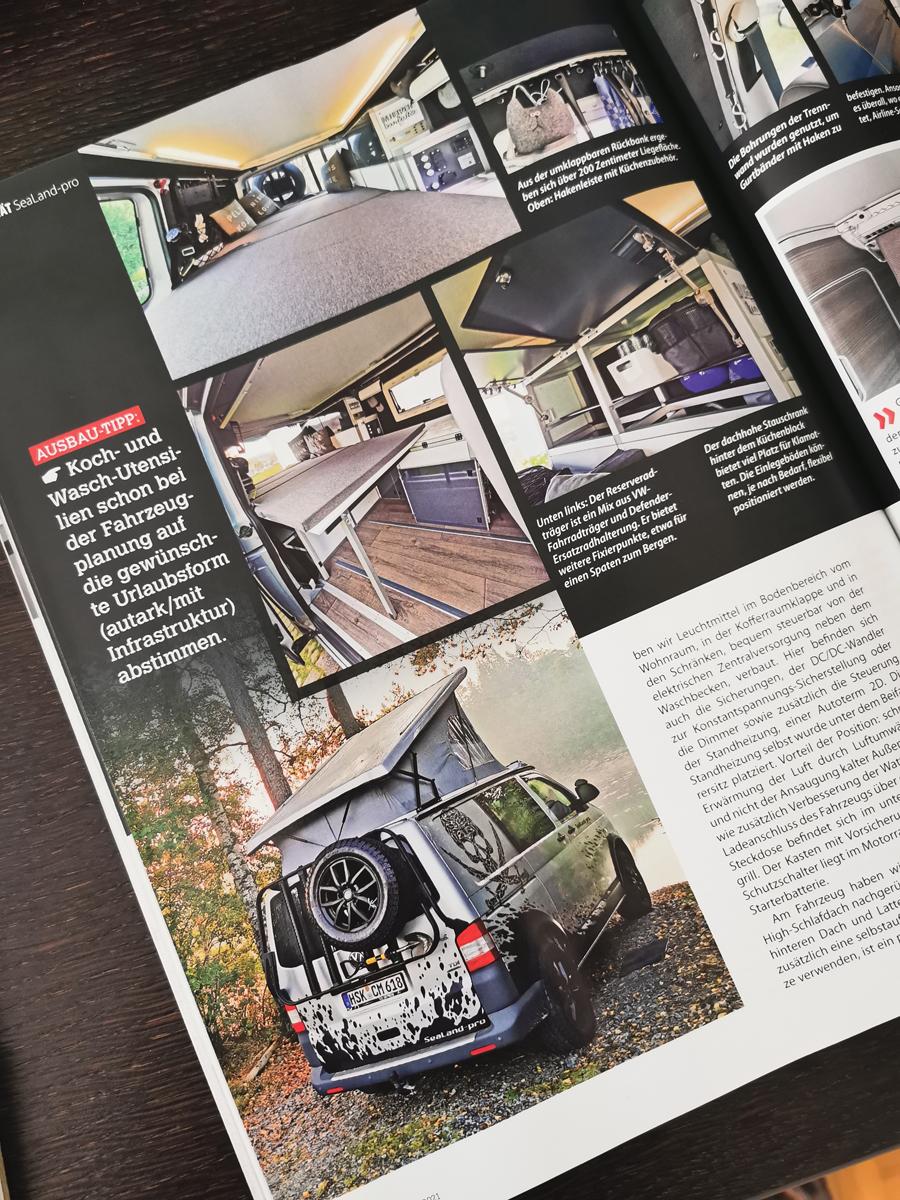 Ausbau zum SeaLand-pro Camper CamperVans-Magazin