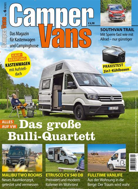 CamperVans Magazin Ausgabe 4_2021