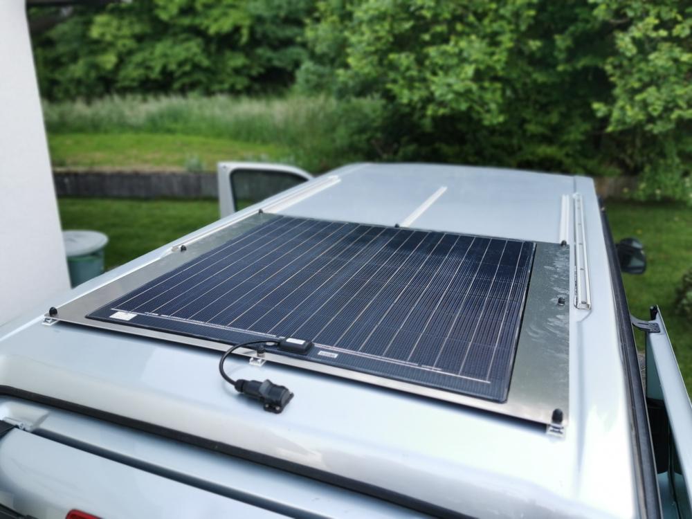 Büttner Solarmodul airlineschiene sealand-pro