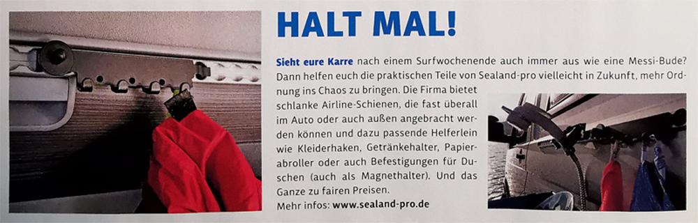 SeaLand-pro im Surf-Magazin