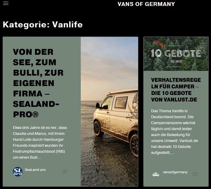 SeaLand pro bei @Vans.of.Germany bei Instagram