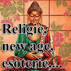borduurpakketten met telpatroon - religie, esoterie, new age,...