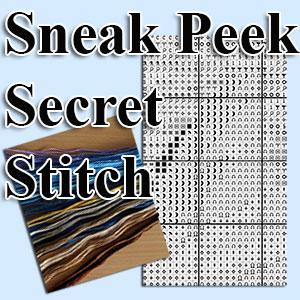 Sneak Peek Secret Stitch borduurpakketten met telpatroon