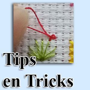 Handwerktips voor borduren en knopen
