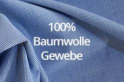 100% Baumwollgewebe