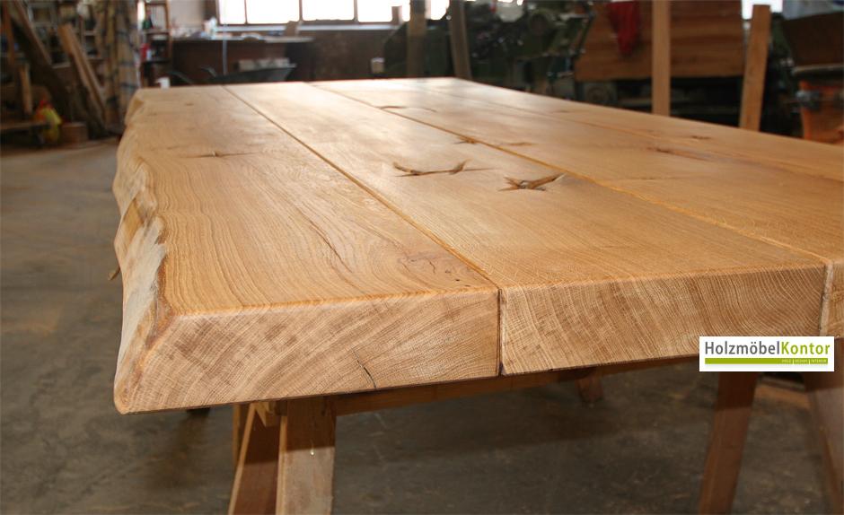 Tischplatten handgefertigte Produkte von holzmoebelkontor