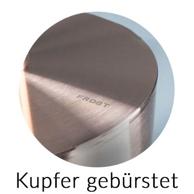Frost Farbe Kupfer gebürstet