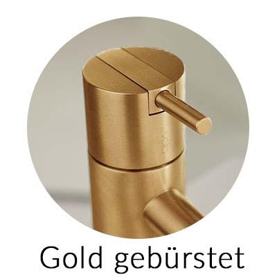 Vola Farbe Gold Gebürstet