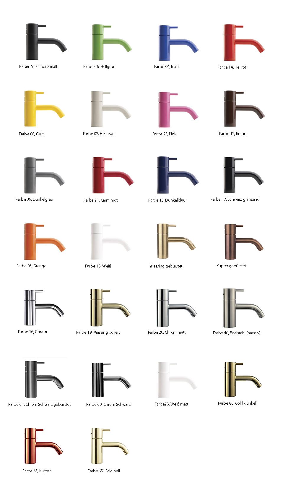 Vola Farben und Oberflächen