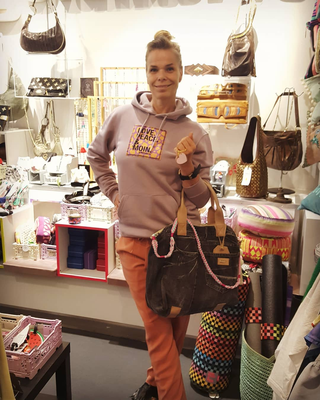 goldmarie Shopper Tasche VINTAGE JEANS