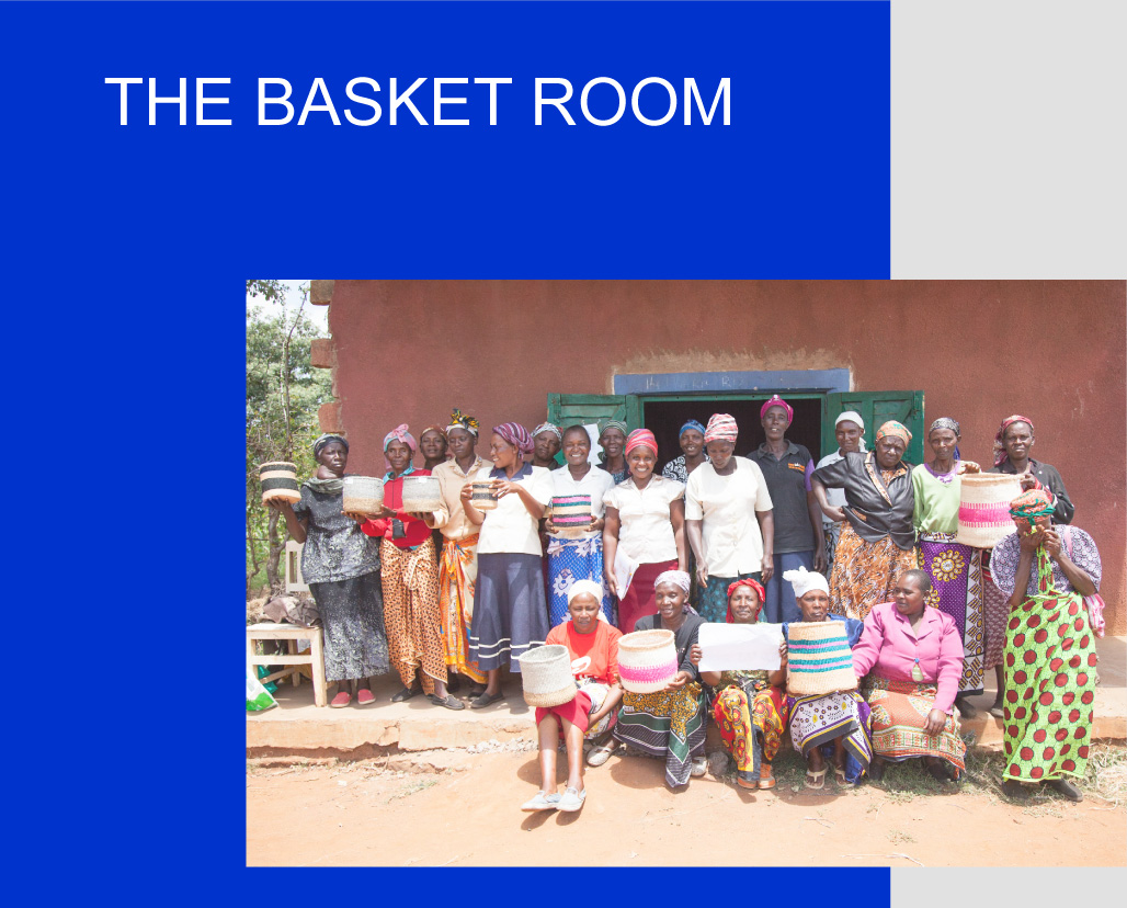 The Basket Room Körbe fair trade Kenia kaufen - Berlin - The Botanical Room