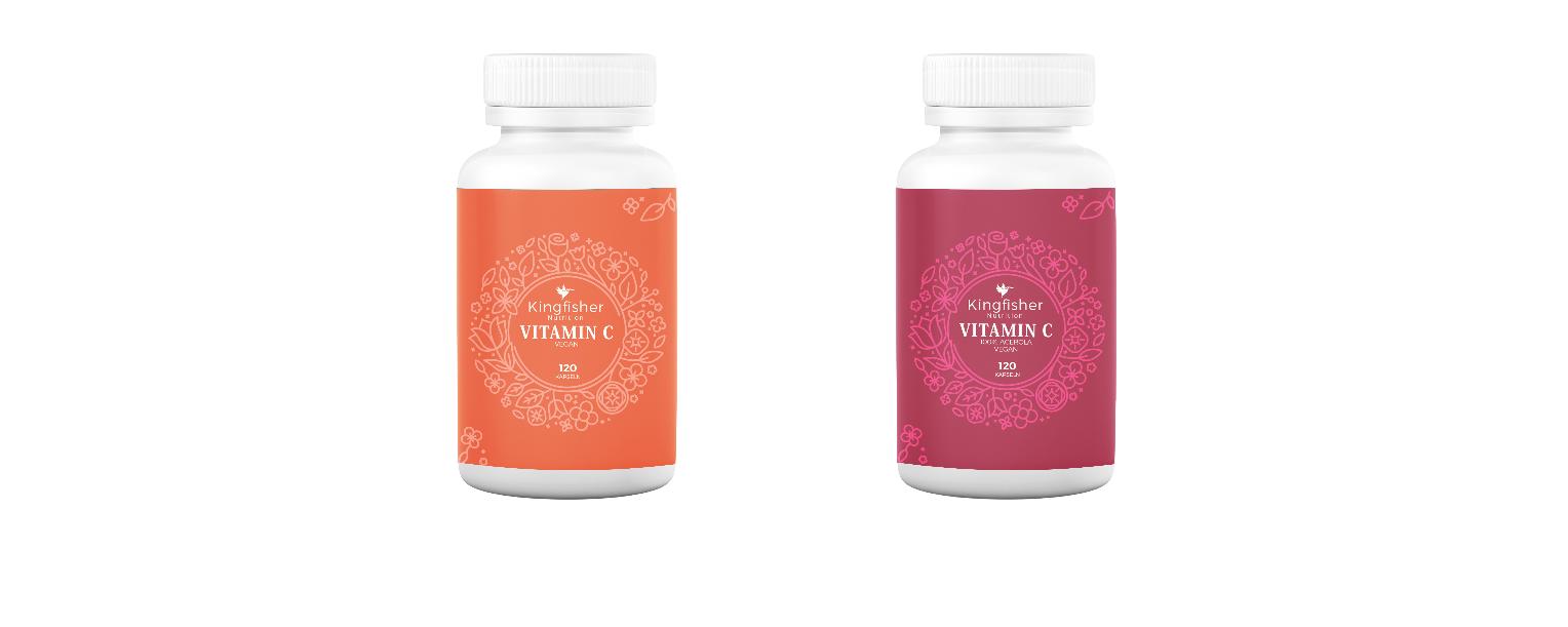Vitamin C: Hochdosiert mit Zink und Selen oder Acerolakirsche