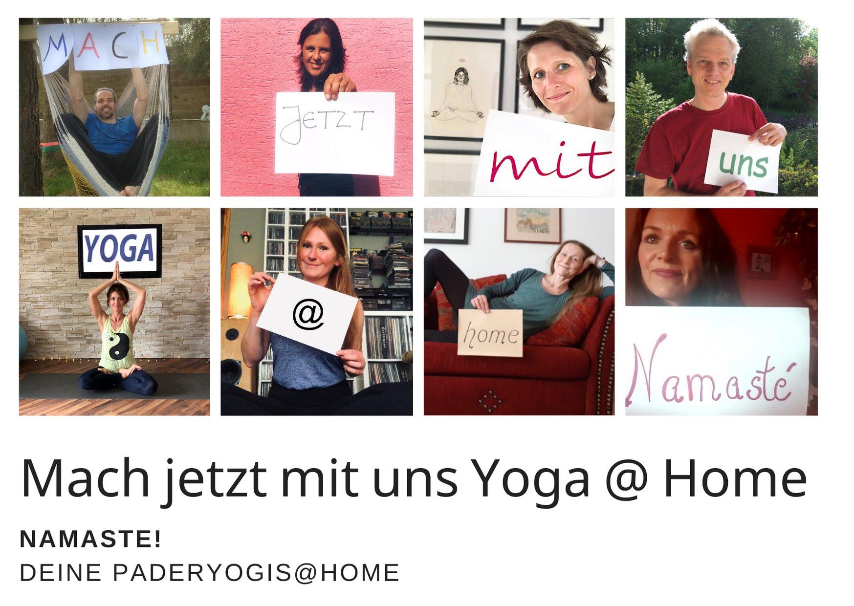 Yoga Zuhause im Livestream
