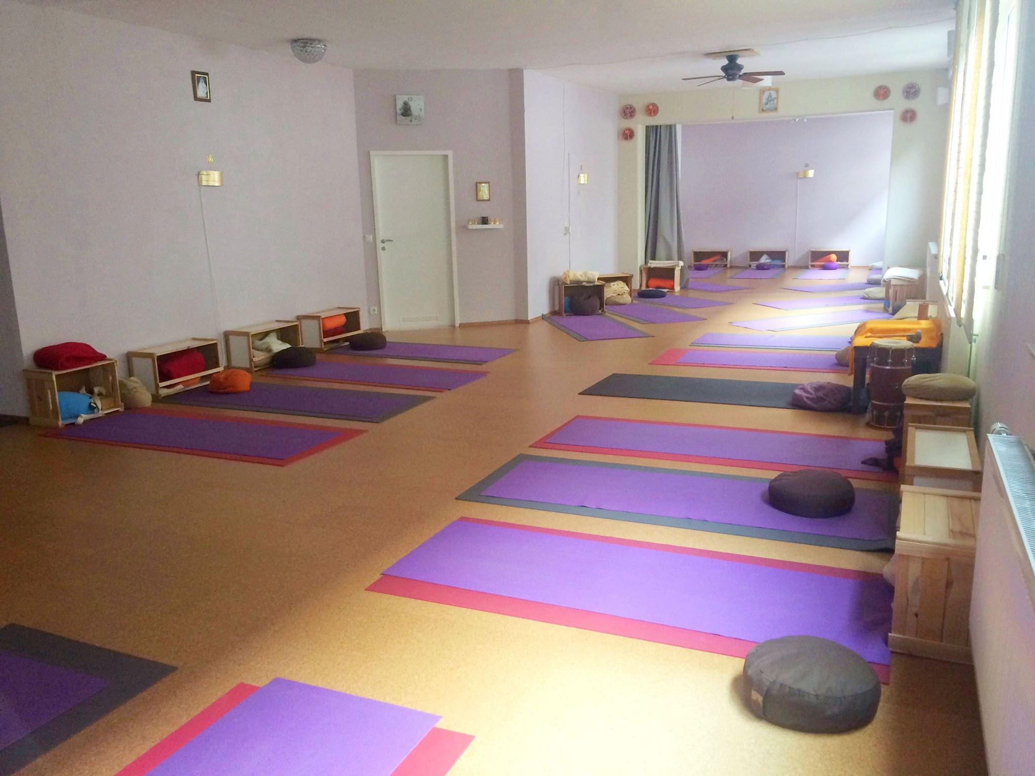 Unser Yogaraum