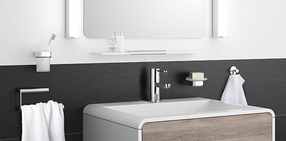AVENARIUS Toilettenbürstengarnitur; Serie 390
